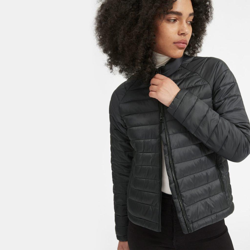 Vegan winter puffer jacket - Everlane #puffer #winter #vegan