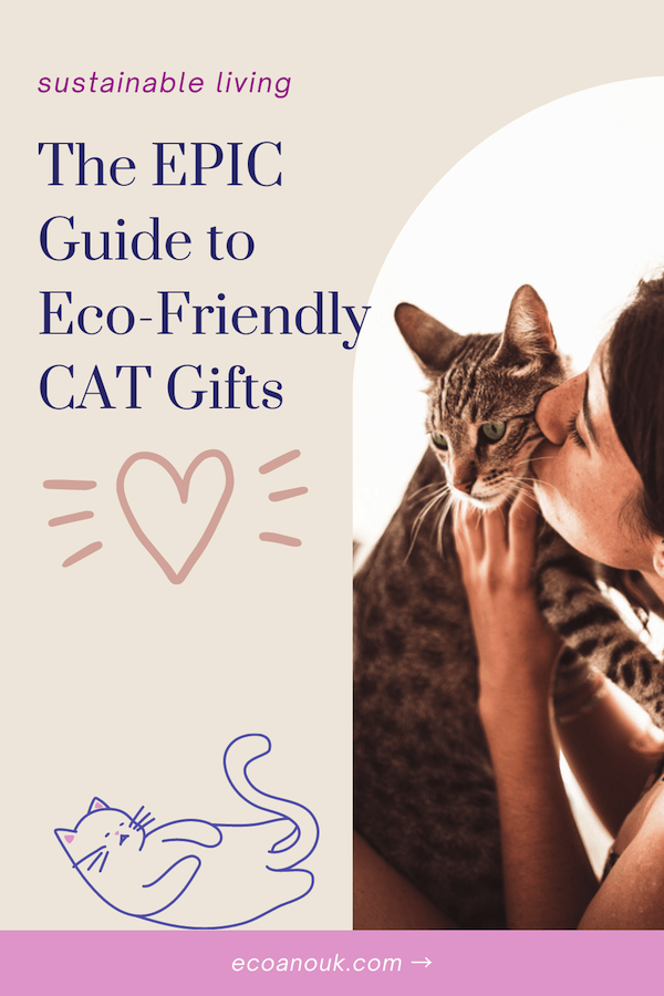 Looking for eco-friendly cat gifts? Here's a useful guide to safe gifts for your feline friend.