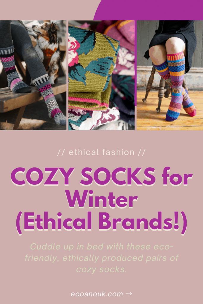 Cozy ethical socks for winter