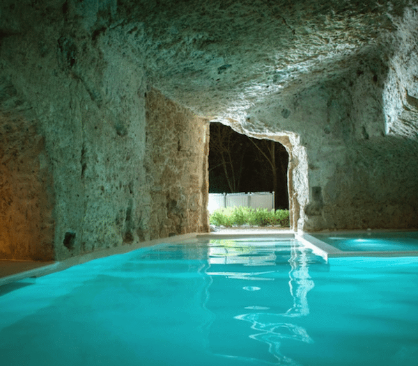 Underground buildings in Italy