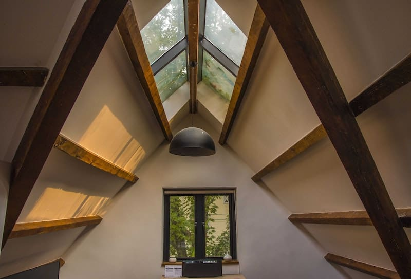 Your attic can be a cause for heat loss. Make sure you install an attic tent