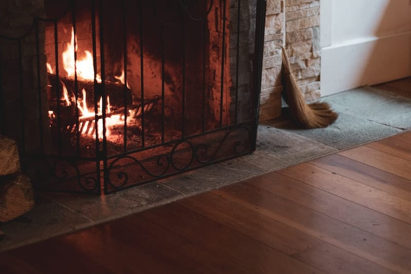 fireplaces can be very energy inefficient. make sure your fireplace is working well for optimal energy use