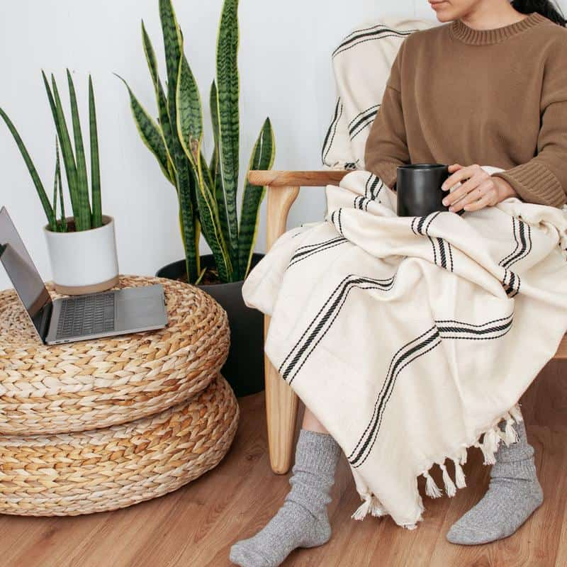 Equal Uprise's ethically sourced products are ideal for your boho home