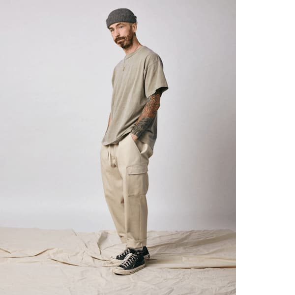 Oil/Lumber mens eco-friendly clothing