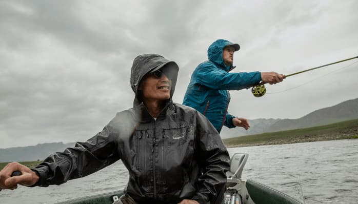 Patagonia Worn Wear - two men wearing fishing gear
