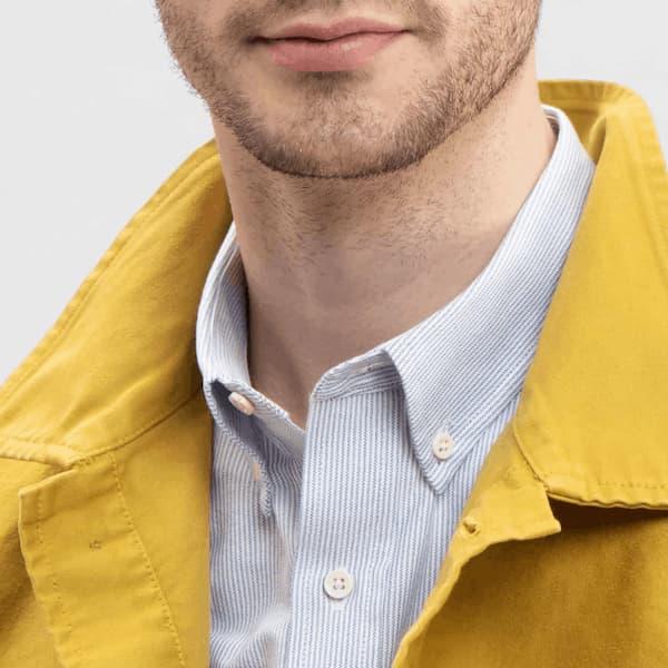 Todd Shelton striped shirt for men