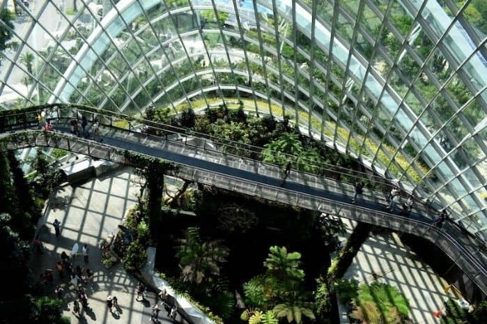 Singapore is famous for its sustainable development over the years